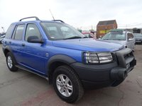 2002 LAND ROVER FREELANDER 2.0 TD4 GS STATION WAGON DRIVES A1 £1395.00