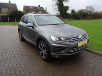 USED 2015 65 VOLKSWAGEN TOUAREG 3.0 V6 R-LINE TDI BLUEMOTION TECHNOLOGY 5d AUTO 259 BHP