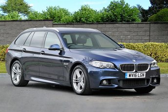 2016 BMW 5 SERIES 535D M SPORT TOURING [313] HUD NAV Pro