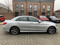 USED 2018 68 MERCEDES-BENZ C CLASS 2.0 C 220 D AMG LINE 4d AUTO 192 BHP BARGAIN, Almost NEW Facelift, Low Miles, Warranty