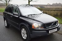 USED 2005 55 VOLVO XC90 2.4 D5 SE 5d AUTO 183 BHP 7 SEATS SERVICE HISTORY, 7 LEATHER SEATS, HEATED ELECTRIC FRONT SEATS, SAT NAV, REAR PRIVACY GLASS
