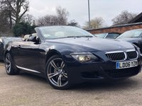 2006 BMW 6 SERIES 4.8 650I CONVERTIBLE AUTOMATIC £11900.00