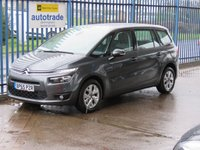 USED 2016 65 CITROEN C4 GRAND PICASSO 1.6 BLUEHDI VTR PLUS 5d AUTO 118 BHP