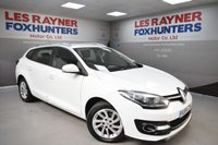 USED 2014 64 RENAULT MEGANE 1.5 EXPRESSION PLUS DCI EDC 5d AUTO 110 BHP Rear park sensors, Low tax, Great MPG, Cruise control, Bluetooth