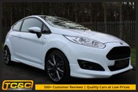 USED 2016 16 FORD FIESTA 1.0 ST-LINE 3d 124 BHP A GREAT LOOKING CAR WITH THE 125BHP ENGINE AND SAT NAV!!!