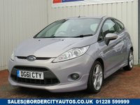USED 2011 61 FORD FIESTA 1.6 ZETEC S 3d 118 BHP SERVICE HISTORY