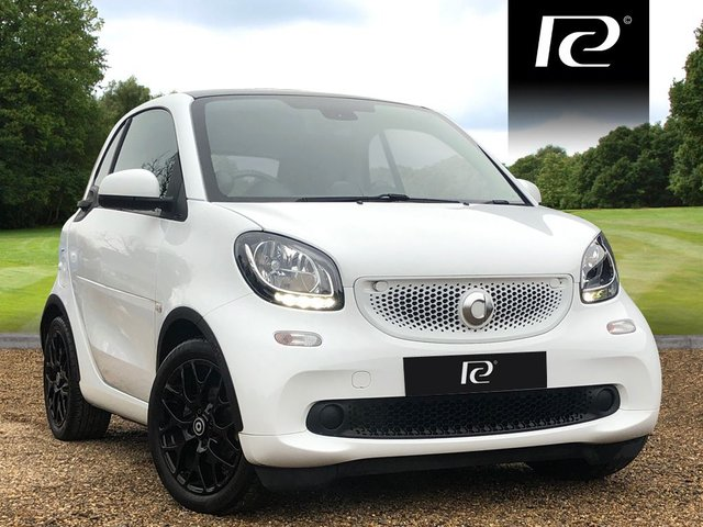 2016 16 SMART FORTWO 0.9 EDITION WHITE T 2d AUTO 90 BHP