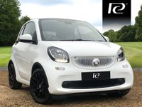 USED 2016 16 SMART FORTWO 0.9 EDITION WHITE T 2d AUTO 90 BHP