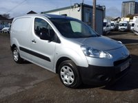 USED 2016 66 PEUGEOT PARTNER 1.6 HDI 850 PROFESSIONAL, 89 BHP, AIR CON, ELECTRIC PACK