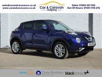 USED 2016 65 NISSAN JUKE 1.2 N-CONNECTA DIG-T 5d 115 BHP One Owner Full Dealer History Buy Now, Pay Later Finance!