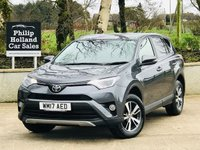 USED 2017 17 TOYOTA RAV4 2.0 D-4D BUSINESS EDITION PLUS TSS 5d 143 BHP Sat Nav, Reverse camera, Power tailgate, Front an Rear park sensors, Cruise control