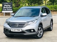 USED 2014 HONDA CR-V 2.2 I-DTEC SR 5d 148 BHP 4X4 Half leather, Heated seats, Reverse camera, Front and Rear parking sensors