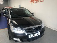 USED 2011 61 SKODA OCTAVIA 2.0 SE TDI CR 5d 138 BHP **1 OWNER CAR WITH FULL SERVICE HISTORY**