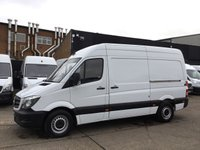 USED 2016 MERCEDES-BENZ SPRINTER 2.1 313CDI MWB HIGH ROOF 130BHP. FSH. 1 OWNER. FINANCE 1 OWNER. CHEAPEST 2016 MODEL IN UK. FSH. FINANCE. PX