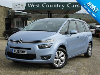 2015 CITROEN C4 GRAND PICASSO 1.6 BLUEHDI VTR PLUS 5d 118 BHP £10000.00