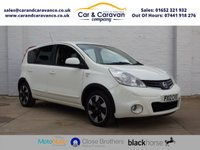 USED 2012 12 NISSAN NOTE 1.5 N-TEC PLUS DCI 5d 89 BHP Full Service History Bluetooth Buy Now, Pay Later Finance!