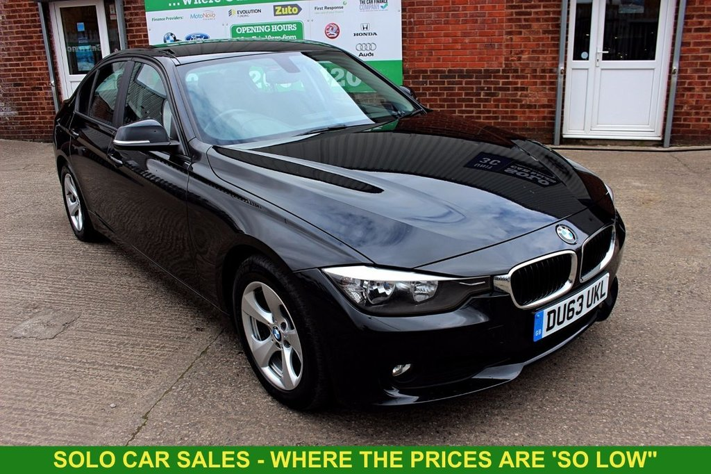 2013 63 BMW 3 SERIES 2.0 320D EFFICIENTDYNAMICS 4d 161 BHP