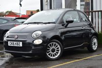 USED 2016 16 FIAT 500 1.2 POP STAR 3d 69 BHP Full Service History With 2 Stamps.(ONLY £20 PER YEAR ROAD TAX . FIRST MOT ON PURCHASE).