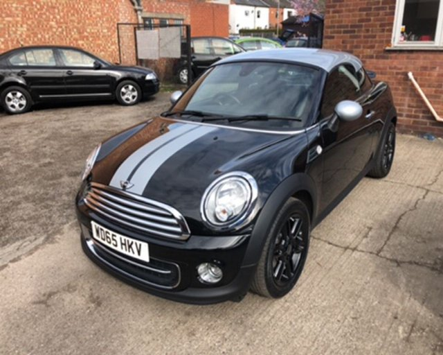 2015 65 MINI COUPE COOPER