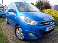 USED 2011 11 HYUNDAI I10 1.2 ACTIVE 5d 85 BHP **Ideal 1st Car £20 Yearly Road Tax Full Service History 12 Months Mot**
