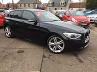 USED 2012 12 BMW 1 SERIES 2.0 120D M SPORT 5d 181 BHP GREAT LOW MILEAGE EXAMPLE WITH MANY EXTRAS