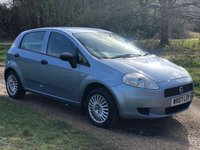 USED 2007 07 FIAT GRANDE PUNTO 1.2 ACTIVE 8V 5d 65 BHP SERVICE HISTORY LOW INSURANCE
