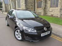2016 VOLKSWAGEN GOLF 1.4 MATCH EDITION TSI BMT 5d 121 BHP £12995.00