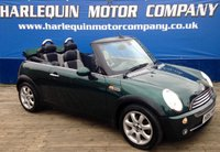 USED 2008 57 MINI CONVERTIBLE 1.6 COOPER 2d 114 BHP