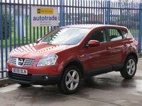 2009 NISSAN QASHQAI 1.5 ACENTA DCI 5d 105 BHP £4695.00