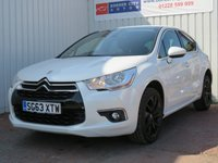 USED 2013 63 CITROEN DS4 1.6 E-HDI AIRDREAM DSTYLE 5d 115 BHP £30 PER YEAR ROAD TAX