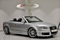 USED 2007 07 AUDI RS4 CABRIOLET 4.2 RS4 QUATTRO 2d 420 BHP RECENT BILSTEIN COILOVERS