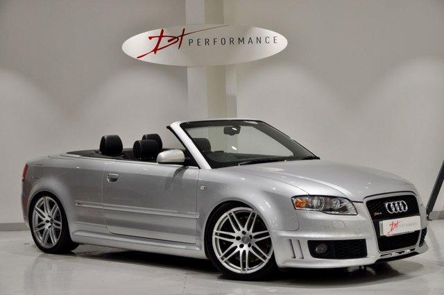 2007 07 AUDI RS4 CABRIOLET 4.2 RS4 QUATTRO 2d 420 BHP