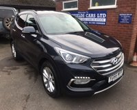 USED 2016 66 HYUNDAI SANTA FE 2.2 CRDI PREMIUM BLUE DRIVE 5d AUTO 197 BHP AUTOMATIC AUTO 7 SEATER SEATS ONLY 17K MILES