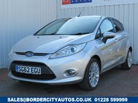 USED 2012 62 FORD FIESTA 1.4 TITANIUM 5d 96 BHP FULL DEALER SERVICE HISTORY