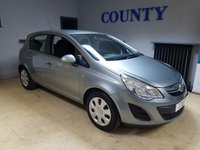 USED 2013 63 VAUXHALL CORSA 1.2 EXCLUSIV AC 5d 83 BHP * TWO OWNERS * LOW MILEAGE *