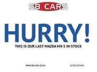 USED 2004 04 MAZDA MX-5 CONVERTIBLE  1.6  LOTS OF SERVICE HISTORY: