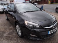 2013 VAUXHALL ASTRA 1.6 EXCLUSIV 5d 113 BHP £4495.00
