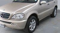 USED 2003 03 MERCEDES-BENZ M CLASS 2.7 ML270 CDI 5d AUTO 163 BHP