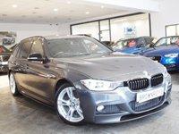USED 2014 14 BMW 3 SERIES 3.0 330D M SPORT TOURING 5d AUTO 255 BHP M PERFROMANCE STYLING+SAT NAV
