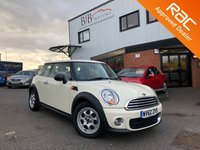 USED 2012 62 MINI HATCH ONE 1.6 ONE D 3d 90 BHP £0 ANNUAL ROAD TAX | UP TO 70MPG | PEPPER PACK | LOW MILEAGE | RAC BUYSURE