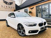 2017 BMW 1 SERIES 2.0 118D SPORT 3d 147 BHP £14490.00