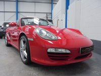 "USED 2009 09 PORSCHE BOXSTER 2.9 24V 2d 255 BHP Full Porsche Service History, Heated Leather Seats, Rear Parking Sensors, Cruise Control, Air Conditioning, Electric Windows and Mirrors, Remote Central locking with 2 Keys, 18"" Alloys"
