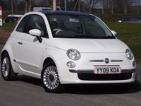 2009 FIAT 500 500 LOUNGE  £3595.00