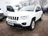 2011 JEEP COMPASS 2.1 CRD SPORT PLUS 5d 134 BHP £SOLD