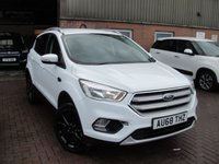 USED 2018 68 FORD KUGA 1.5 ZETEC 5d 118 BHP ANY PART EXCHANGE WELCOME, COUNTRY WIDE DELIVERY ARRANGED, HUGE SPEC