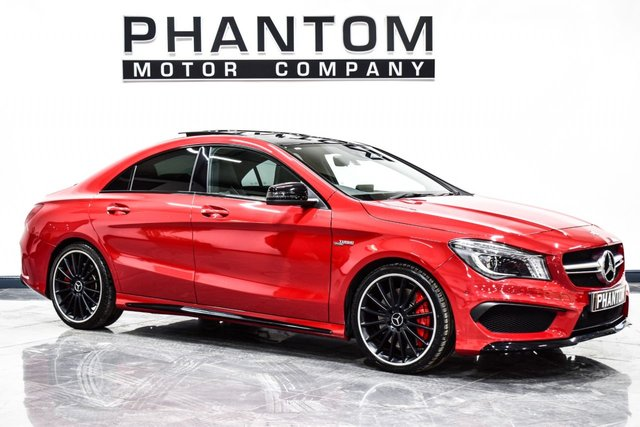 USED 2015 15 MERCEDES-BENZ CLA 2.0 CLA45 AMG 4MATIC 4d AUTO 360 BHP COUPE