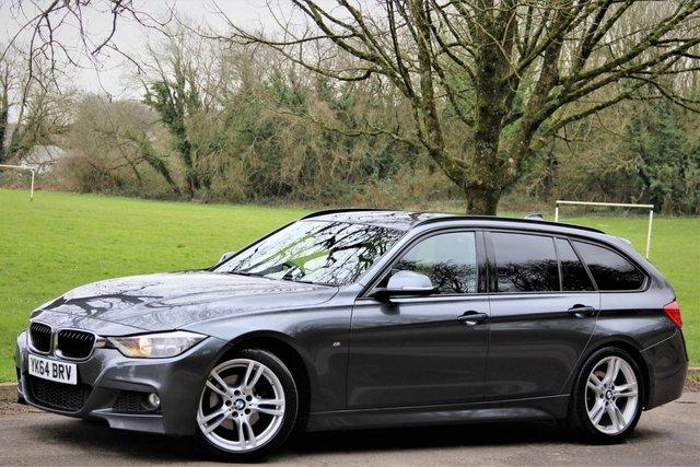 2014 64 BMW 3 SERIES 2.0 320D M SPORT TOURING 5d AUTO 181 BHP