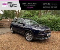 USED 2014 64 JEEP CHEROKEE 2.0 M-JET LIMITED 5d 168 BHP SLIDING PAN ROOF FULL LEATHER SAT NAV PARK ASSIST BLUETOOTH