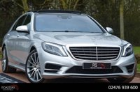 USED 2016 66 MERCEDES-BENZ S CLASS 4.7 S500 AMG Line L (Executive) LWB Saloon 9G-Tronic (s/s) 4dr NAV+CAM.+PAN ROOF+SOFT CLOSE
