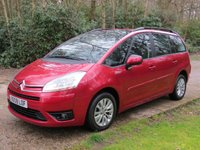 USED 2008 08 CITROEN C4 GRAND PICASSO 1.8 VTR PLUS 16V 5d 124 BHP 7 SEATS, LOW MILES. FINANCE, PX & DELIVERY POSSIBLE